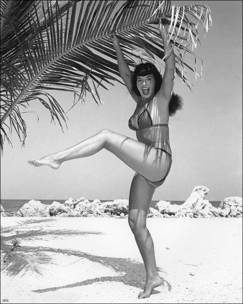 Betty Page Photos: All About The Art Of CinemaGolden Age Of