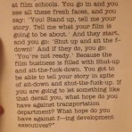 David Fincher's Advice to Young Filmmakers www.cinematheia.com
