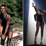 """May Day, """"A View To A Kill"""" (1985). Played by Grace Jones."""