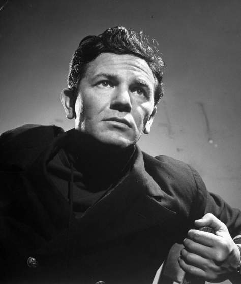 "John Garfield during his performance in ""Skipper Next to God"" put on by the Experimental Theater."