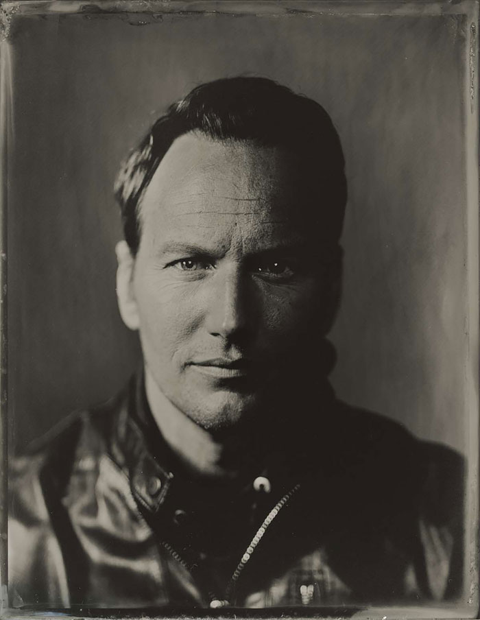 3 Portraits Of Hollywood Actors Taken With An Old Camera