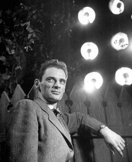 Arthur Miller starring in the play All My Sons. (Photo by Eileen Darby/The LIFE Images Collection/Getty Images)