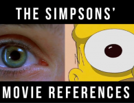 Side by Side Comparison Of Movie References In The Simpsons-cinematheia