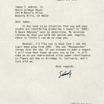 Seriously, don't fuck with me... letter from Stanley Kubrick to MGM-cinematheia